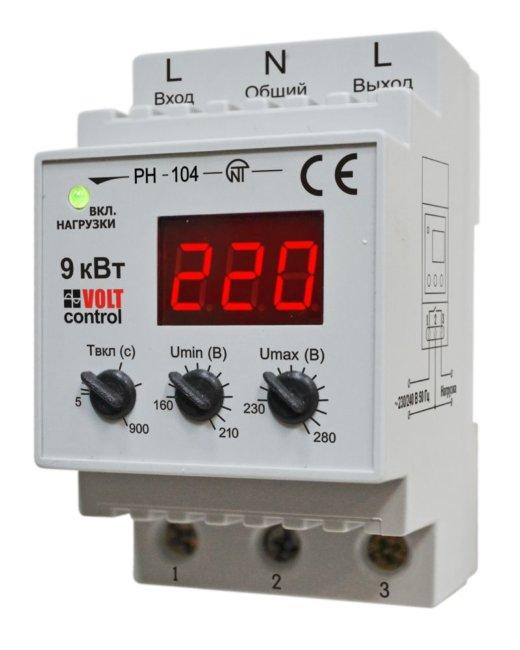 Реле напряжения новатек-электро рн-113 купить в санкт-петербурге