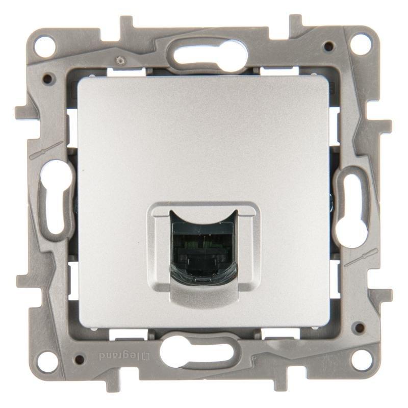 672253 ETIKA Розетка RJ45 кат. 6 UTP, цвет белый купить в интернет ... 1b51bf26e88
